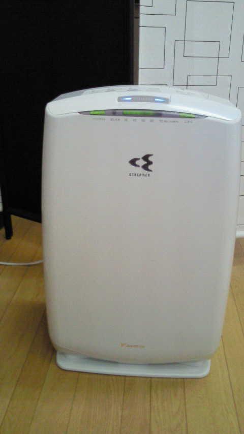新空気清浄器