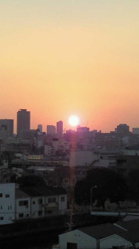2013最後の夕日